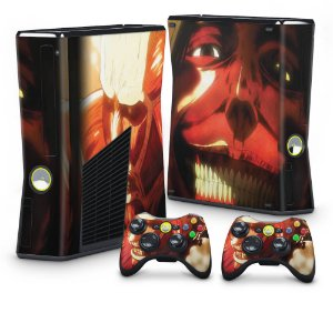 Xbox 360 Slim Skin - Attack on Titan #B