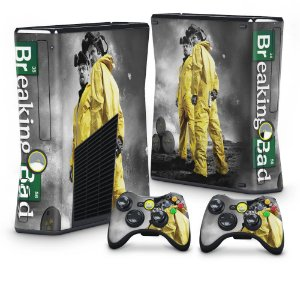Xbox 360 Slim Skin - Breaking Bad