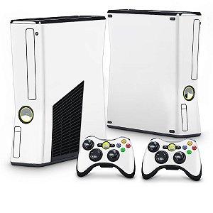 Xbox 360 Slim Skin - Branco