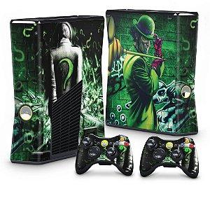 Xbox 360 Slim Skin - Charada Batman