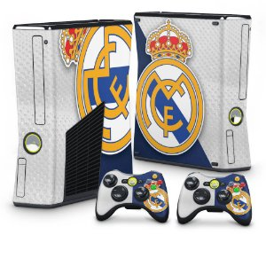 Xbox 360 Slim Skin - Real Madrid FC