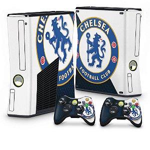 Xbox 360 Slim Skin - Chelsea