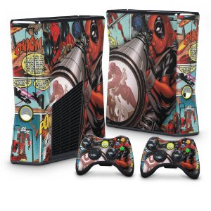 Xbox 360 Slim Skin - Deadpool