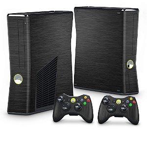 Xbox 360 Slim Skin - Aço Escovado Preto