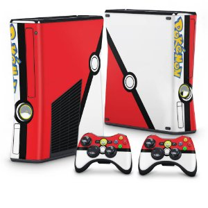 Xbox 360 Slim Skin - Pokemon Pokebola