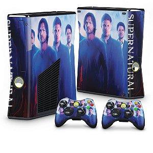 Xbox 360 Slim Skin - Supernatural Sobrenatural