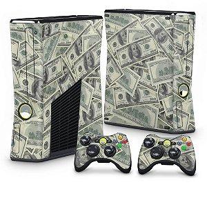 Xbox 360 Slim Skin - Dollar Money Dinheiro