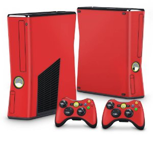 Xbox 360 Slim Skin - Vermelho