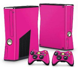 Xbox 360 Slim Skin - Rosa Pink
