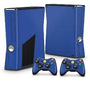 Xbox 360 Slim Skin - Azul Escuro