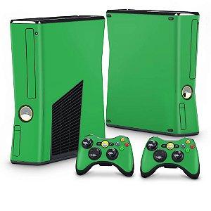 Xbox 360 Slim Skin - Verde