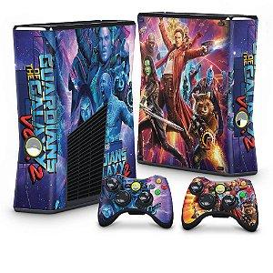 Xbox 360 Slim Skin - Guardioes Da Galaxia 2