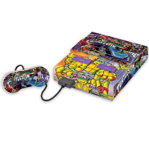 Super Nintendo Skin - Turtles in Time Tartarugas Ninja