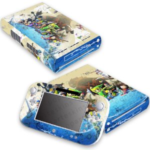 Nintendo Wii U Skin - The Legend of Zelda Wind Waker