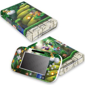 Nintendo Wii U Skin - New super Luigi