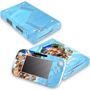Nintendo Wii U Skin - Donkey Kong Tropical Freeze