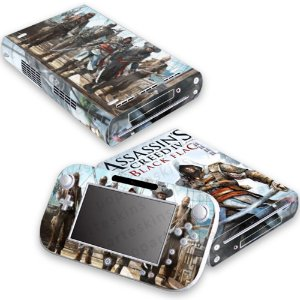 Nintendo Wii U Skin - Assassins Creed IV Black Flag