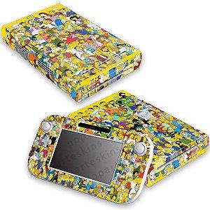 Nintendo Wii U Skin - Simpsons