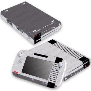 Nintendo Wii U Skin - Nes - Nintendinho