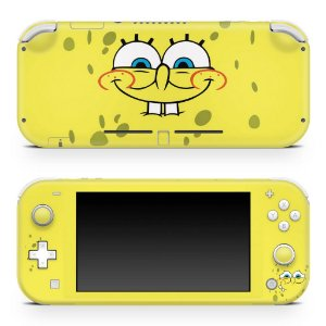 Nintendo Switch Lite Skin - Bob Esponja