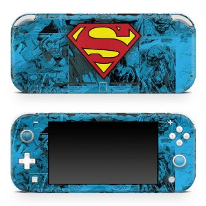Nintendo Switch Lite Skin - Superman Comics