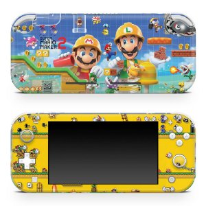 Nintendo Switch Lite Skin - Super Mario Maker 2