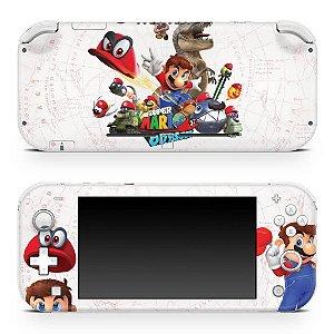 Nintendo Switch Lite Skin - Super Mario Odyssey
