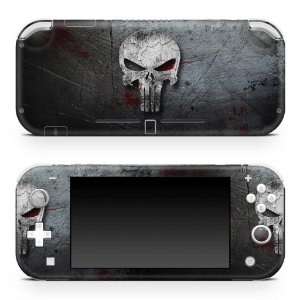 Nintendo Switch Lite Skin - The Punisher Justiceiro