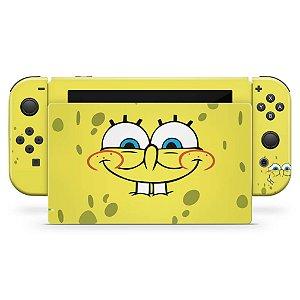 Nintendo Switch Skin - Bob Esponja