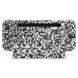Nintendo Switch Skin - Camuflada Cinza