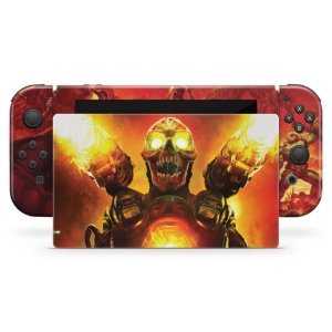 Nintendo Switch Skin - Doom