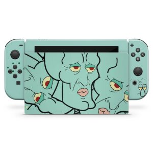 Nintendo Switch Skin - Lula Molusco