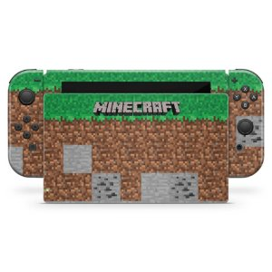Nintendo Switch Skin - Minecraft