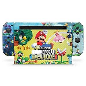 Nintendo Switch Skin - New Super Mario Bros. U