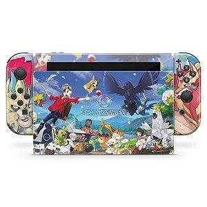 Nintendo Switch Skin - Pokémon Sword And Shield
