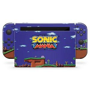 Nintendo Switch Skin - Sonic Mania