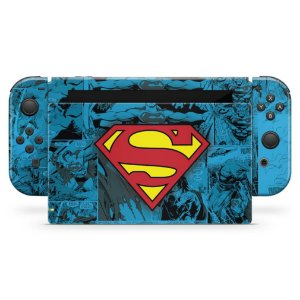 Nintendo Switch Skin - Superman Comics