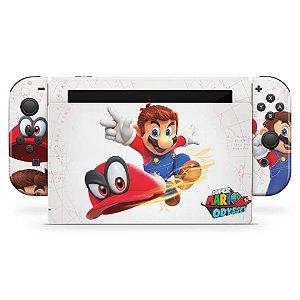 Nintendo Switch Skin - Super Mario Odyssey
