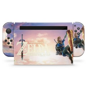 Nintendo Switch Skin - Zelda Breath Of The Wild