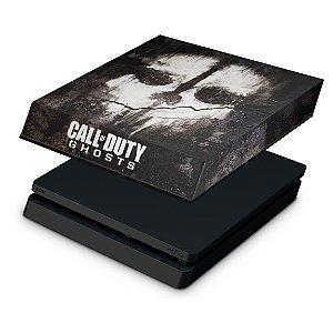 PS4 Slim Capa Anti Poeira - Call Of Duty Ghosts