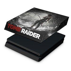 PS4 Slim Capa Anti Poeira - Tomb Raider