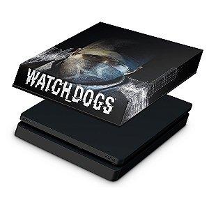 PS4 Slim Capa Anti Poeira - Watch Dogs