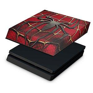 PS4 Slim Capa Anti Poeira - Spider Man - Homem Aranha