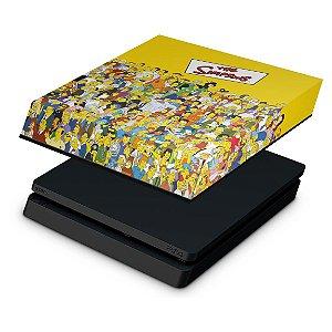 PS4 Slim Capa Anti Poeira - The Simpsons