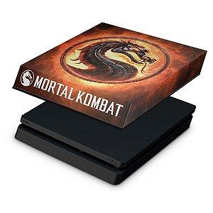 PS4 Slim Capa Anti Poeira - Mortal Kombat