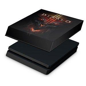 PS4 Slim Capa Anti Poeira - Diablo