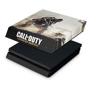 PS4 Slim Capa Anti Poeira - Call of Duty Advanced Warfare