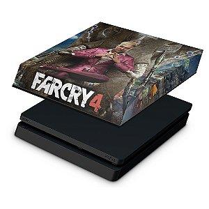 PS4 Slim Capa Anti Poeira - Far Cry 4
