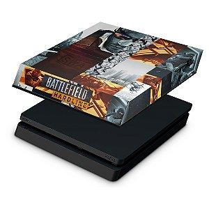 PS4 Slim Capa Anti Poeira - Battlefield Hardline