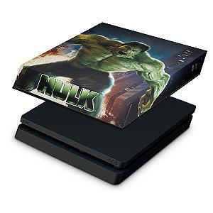 PS4 Slim Capa Anti Poeira - Hulk